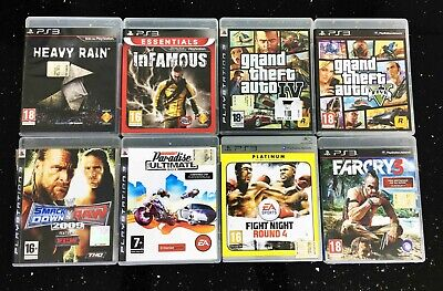 Lotto 8 Giochi Ps4 Grand Theft Auto Gta Iv V Infamous Smack Down Farcry3 Burnout