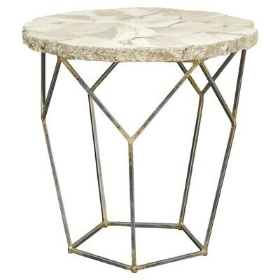 PALECEK FOSSILIZED CLAM SHELL END TABLE coffee book sex what ever you want table