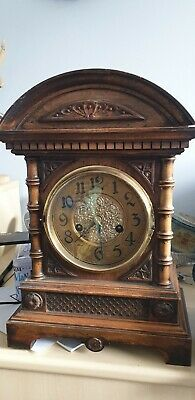 HAC 14 Day Chiming Mantle Clock