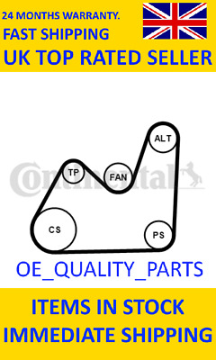 4PK1280 OE Quality New Gates Micro V-Ribbed Belt 4 Ribs 1280mm Part No