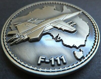 2014 Australian RAAF F-111 Centenary of Aviation Medallion UNC