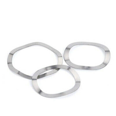 Metric M3~M41 A2 304 Stainless Steel Wave Wavy Spring Washer Crinkle Gasket Shim