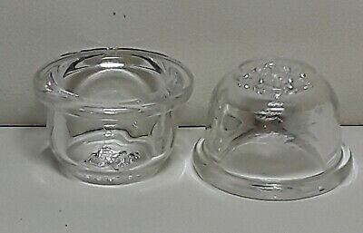 Pack of 2 Honeycomb Glass Screen Bowl