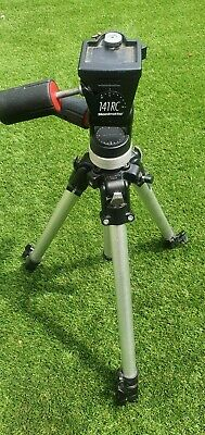 Manfrotto 190 Series Professional Tripod and 141RC three way head
