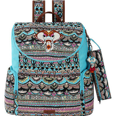 Sakroots Artist Circle Pacific Backpack 4 Colors Everyday Backpack NEW