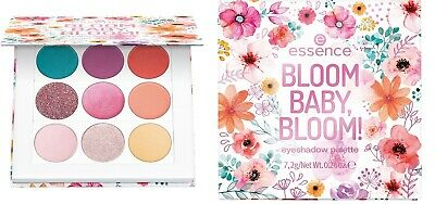 "ESSENCE LE ""BLOOM BABY, BLOOM!"" eyeshadow palette (9 shades) NEU&OVP"