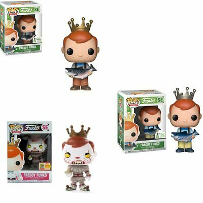 NEW Funko POP Freddy Pennywise Vinyl Action Figures brinquedos Model Toys 9CM