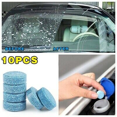 Car Cleaner Compact Glass Washer Detergent Effervescent Tablets Clean
