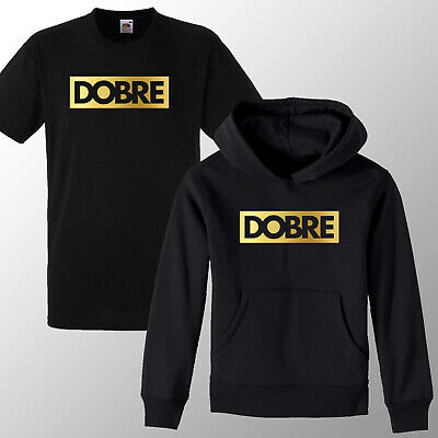 Dobre brothers Kids Gold Print ML Boys Girls Hoodie T shirt Jumper youtube Gift
