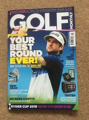 Golf Monthly Magazine September 2018