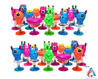 Pop Up Jumping Monster Childrens Party Fillers Goody Bag Xmas Stocking PrizeToy