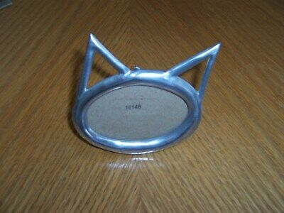 Cat/Kitten Picture Frame Pewter Etain Zinn