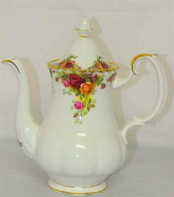 Royal Albert Old Country Roses Coffee Pot ( 3 Available )