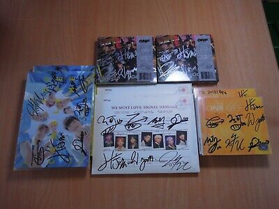 ONF OLD (Promo) with Autographed (Signed)