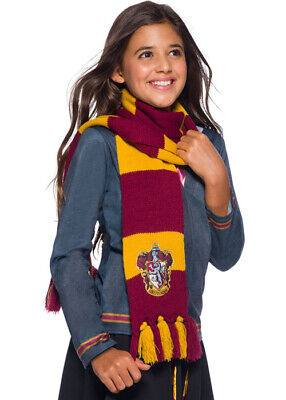 Harry Potter Deluxe Striped Gryffindor Scarf