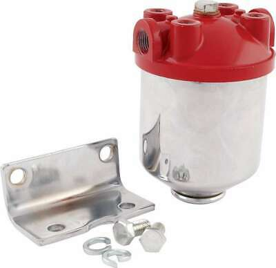 All40250 Fuel Filter Chrome Canister