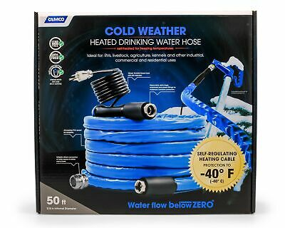 22924 Heated Drinking Water Hose 40 50'