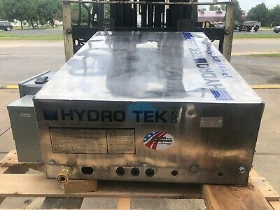 Used Hydro Tek HE3005E4 Electric 4.3GPM@3000PSI Cold Water Pressure Washer