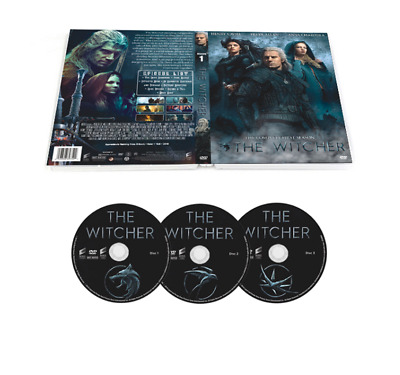The Witcher DVD Season 1 The Complete First Season  DVD Region 1