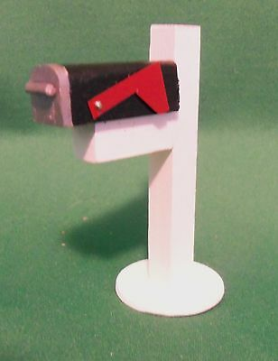 Dollhouse Miniatures 1:12 Scale Country Mailbox #IM66090