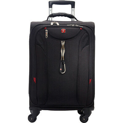 SwissGear Travel Gear 1900 Spinner Carry-On Luggage Softside Carry-On NEW