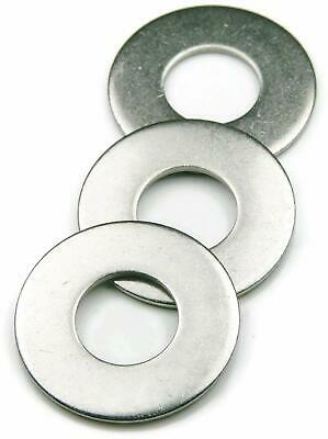 Flat Washers Stainless Steel 18-8 SAE Select Size & Quantity on drop down