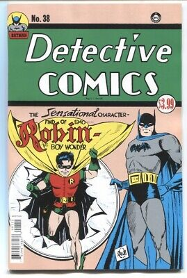 Detective Comics #38 Facsimile Edition Reprints 1St Ap Of Robin Nm