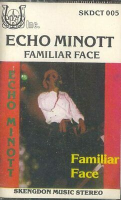 ECHO MINOTT: Familiar Face Cassette Tape