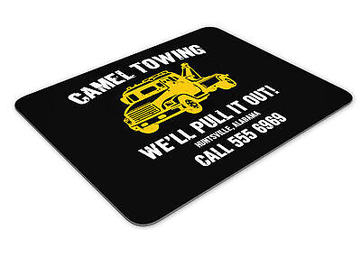Camel Towing We'll Pull It Out Funny Mousemat Office Mouse Mat