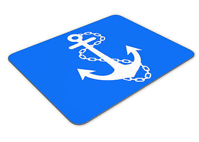 Anchor Sailor Funny Mousemat Office Mouse Mat