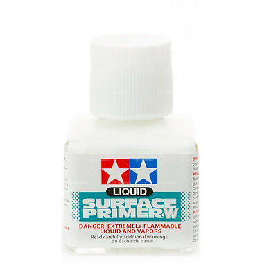 TAMIYA LIQUID SURFACE PRIMER W  FONDO LIQUIDO BIANCO 40 ml ART 87096