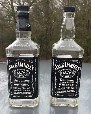 Lamps 1 x Empty Jack Daniels Bourbon Whiskey Bottle 70cl Upcycle Crafts