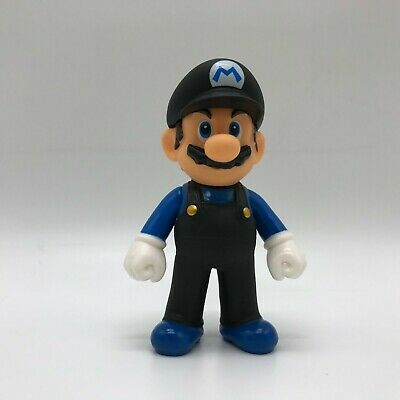 NEW Super Mario Bros. Odyssey Mario Black Clothes Action Figure PVC Toy Doll 5""