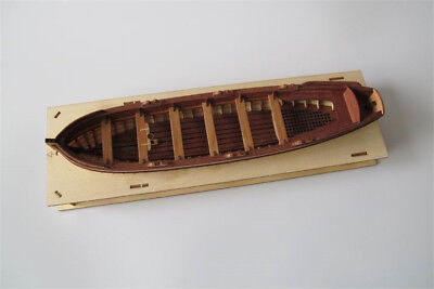 Full Rib Scale 1:75 Model Ship Long Boat Wooden Model Ship Kit HMS surprise 7503