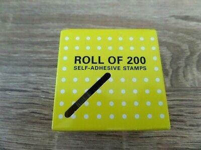 AS NEW - UNOPENED BOX OF 200 x 70c SELF ADHESIVE STAMPS