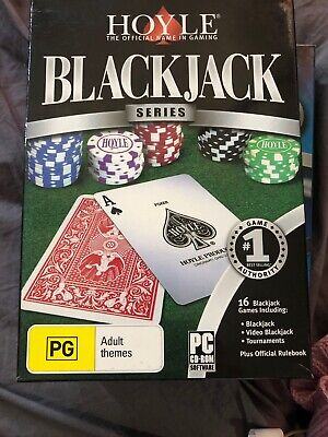 Hoyle BlackJack PC CD Rom Freeepost Acc78