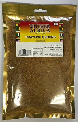 Mother Africa Dried Ground Crayfish 200g (Single Pack)
