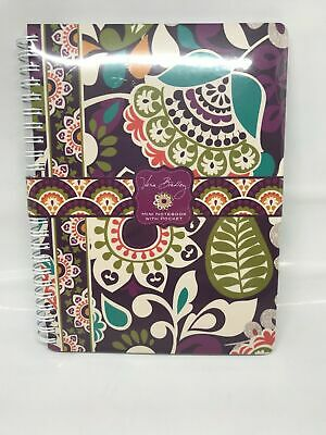 Vera Bradley Plum Crazy Mini Notebook with Pocket NEW Sealed RARE Find RETIRED