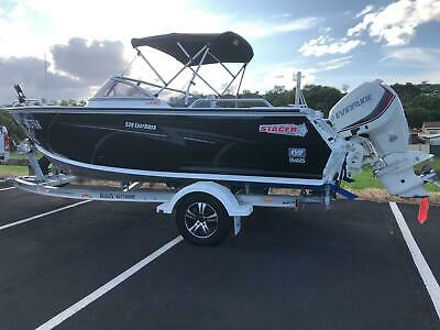 Boat 2016 Stacer 539 easy rider with Evinrude 130hp