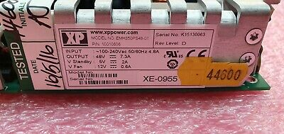 NEW XP EMH350PS48-01 Open Frame AC DC Converter 1 Output 48V 7.3A 80 ~ 275 VAC