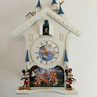 Bradford Disney's Happiest of Times Cuckoo Clock - Ltd Ed - Spares or Repairs