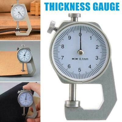 Mini Portable Thickness Gauge Leather Craft Micrometer Tools Accuracy Measu X9N3