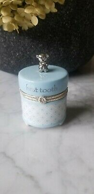First Tooth Porcelain Trinket Box
