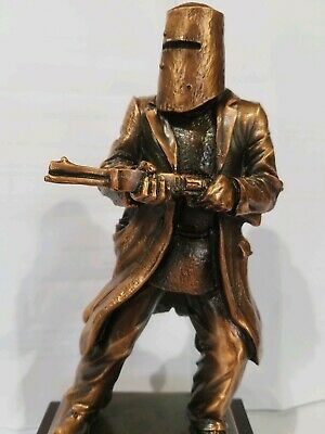 Ned Kelly Statue / Figurine Copper Colour 21cm High