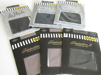 Wolford Tights x 6 Pairs New