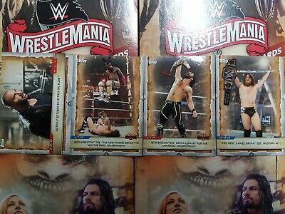 2020 Topps WWE Road to WrestleMania (1-100) COMPLETE YOUR SET-YOU PICK FROM LIST