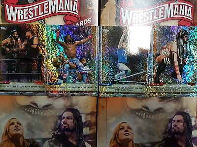 2020 Topps WWE Road to WrestleMania Foilboard (1-100) - YOU PICK FROM LIST