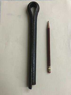 """3/4"""" X 8"""" Cotter Pin Steel Large & Long straight hairpin heavy duty"""