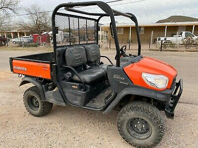 2017 Kubota Rtv X900 Utility Vehicle