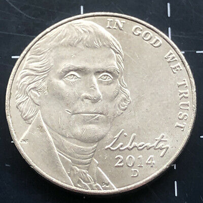 2015 United States Of America U.s.a - Us Five Cents 5 Cent Coin - Monticello 'D'